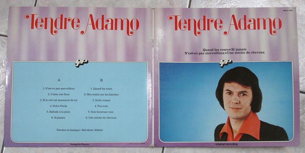 SALVATORE ADAMO -33t- TENDRE ADAMO - UNE MÈCHE DE CHEVEUX 5 Tourcoing (59)
