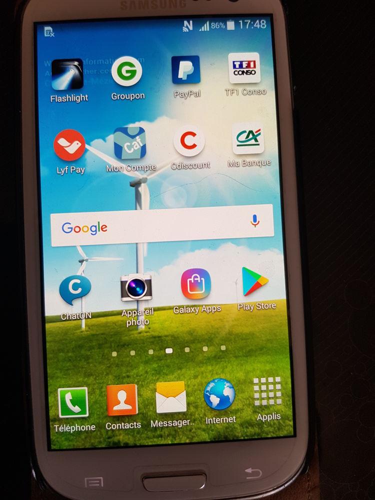 Samsung galaxy S3 débloqué 110 Charleville-Mézières (08)