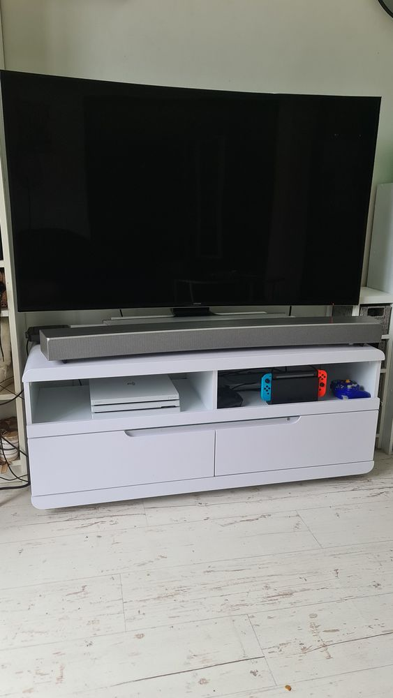 Samsung UHD 4k incurvé 3D + Barre de son incurvé samsung 1200 Chelles (77)