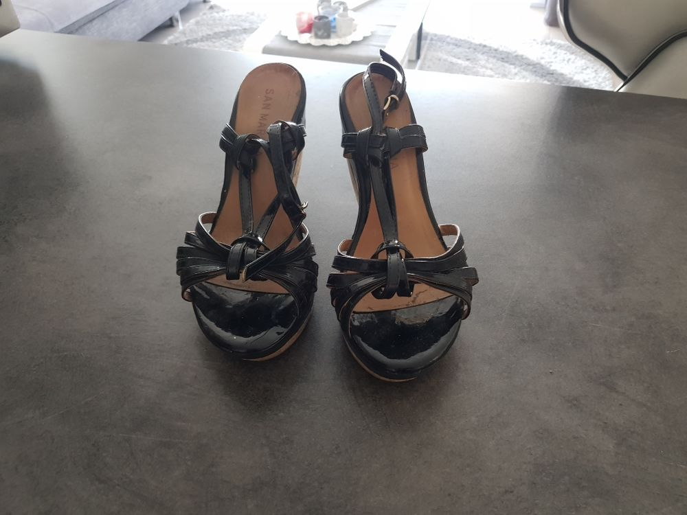 sandales à brides noires 7 Ambilly (74)