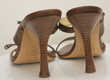 Sandales cuir marron GIUSEPPE ZANOTTI 39 fr Chaussures
