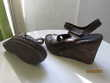 Sandales marron SIRMIONE 37 Chaussures