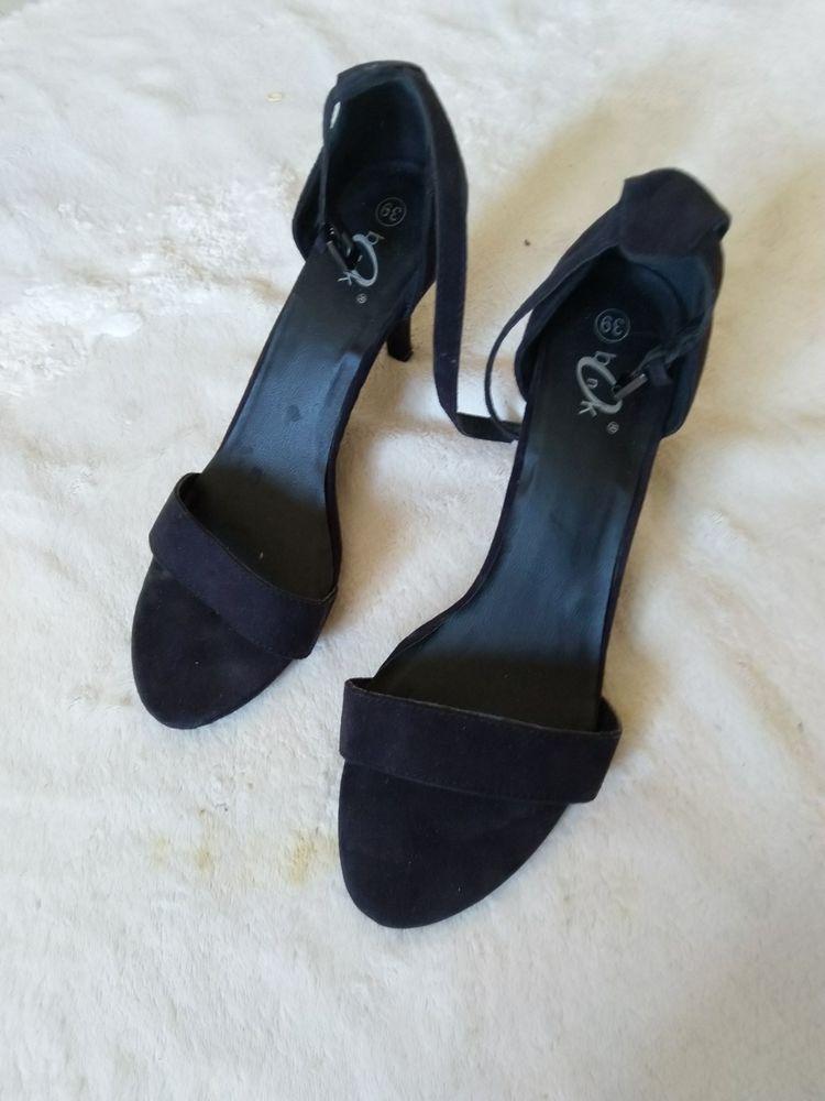 Sandales noires neuves 20 Aix-en-Provence (13)