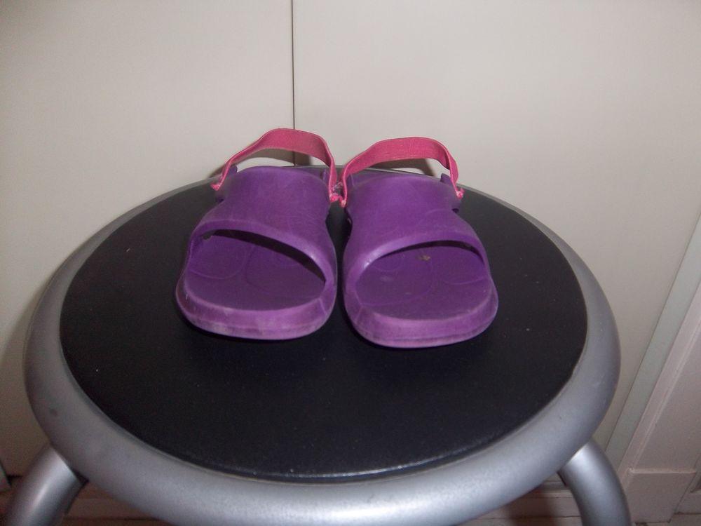 Sandales violet t24 1 Bossay-sur-Claise (37)