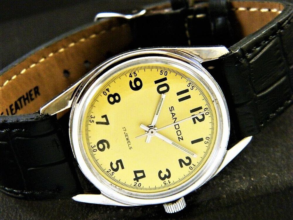 SANDOZ montre Suisse homme 1975 SAN1002 120 Metz (57)