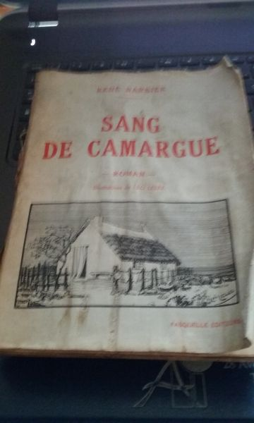 Sang de Camargue de René Barbier 1932 30 Lésigny (77)