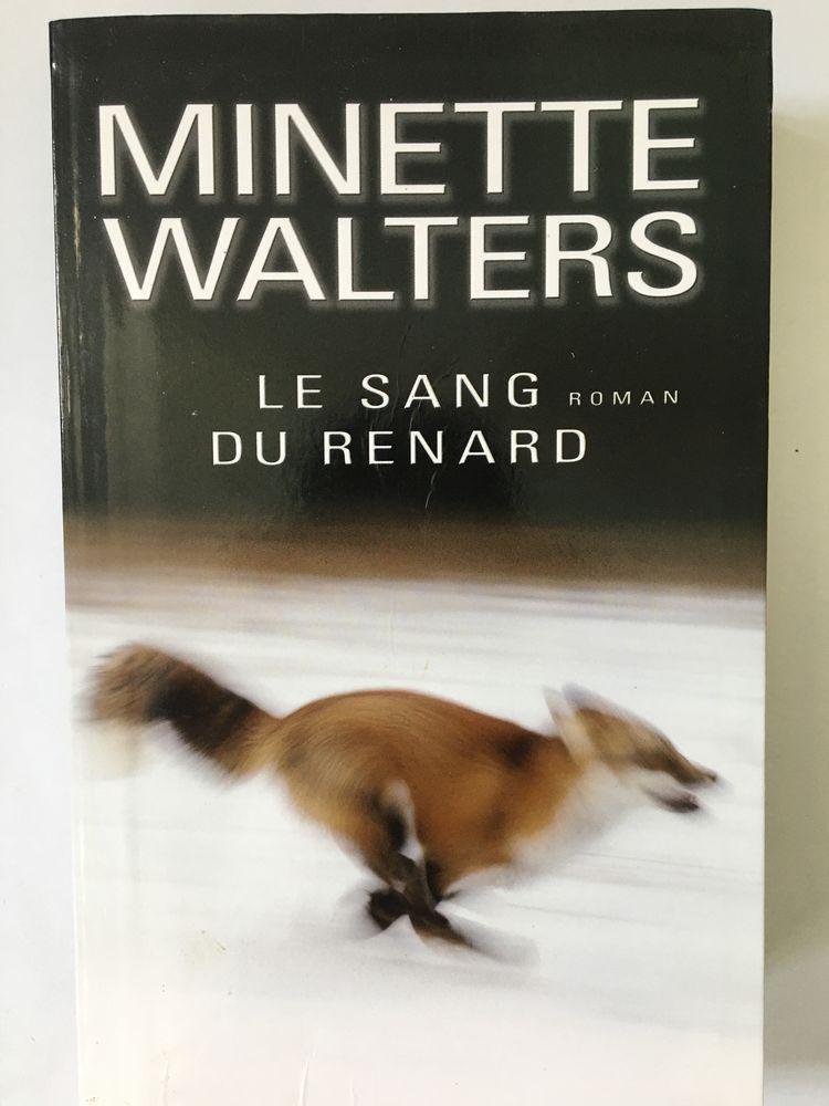Le sang du renard de Minette Walters 8 Paris 16 (75)