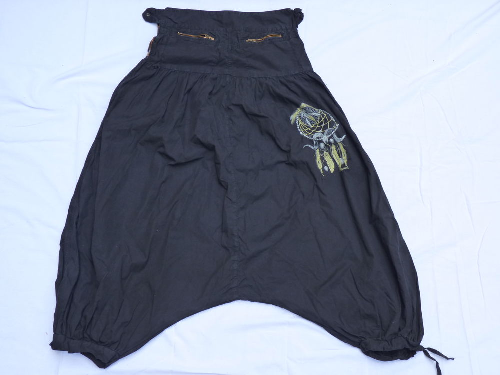 Sarouel noir taille S en coton 8 Villeurbanne (69)