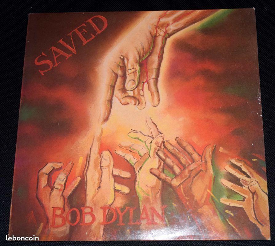 33 TRS - SAVED - BOB DYLAN -1980 CD et vinyles