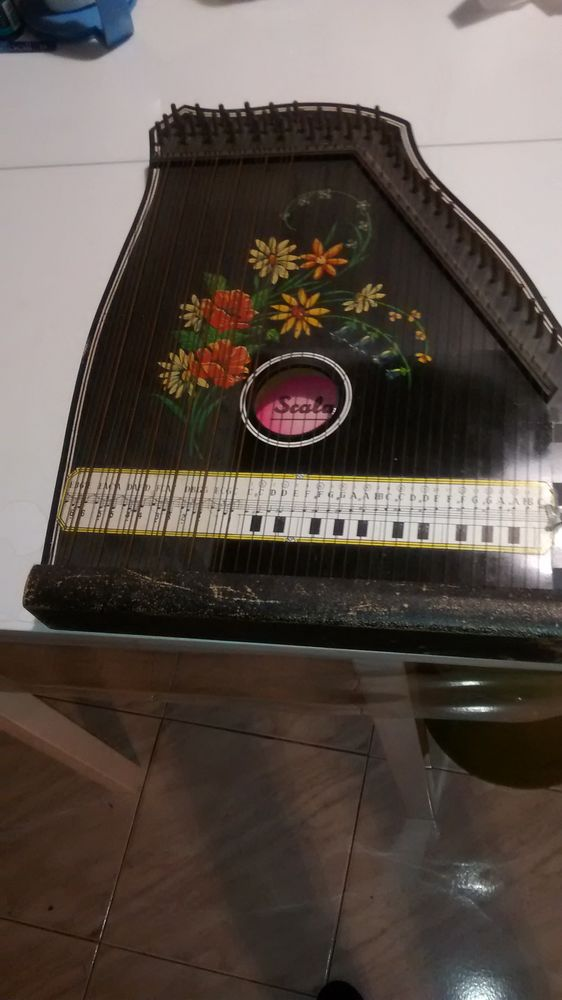 Scala zither zitter hackbrett plus zubehon Instruments de musique