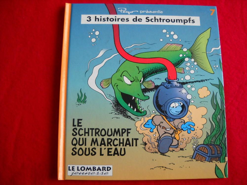 BD - Schtroumpfs - N° 7 - RARE - mini album - EO - 28 € 28 Roanne (42)