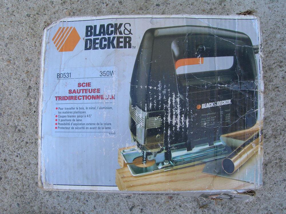 Scie sauteuse black et decker 350w 25 Étauliers (33)