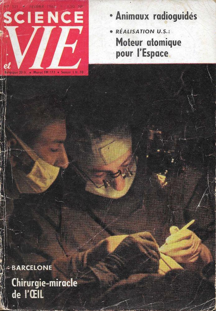 SCIENCE ET VIE n°521 1961  BOING 727  ETENDARD IV  2 Castelnau-sur-Gupie (47)