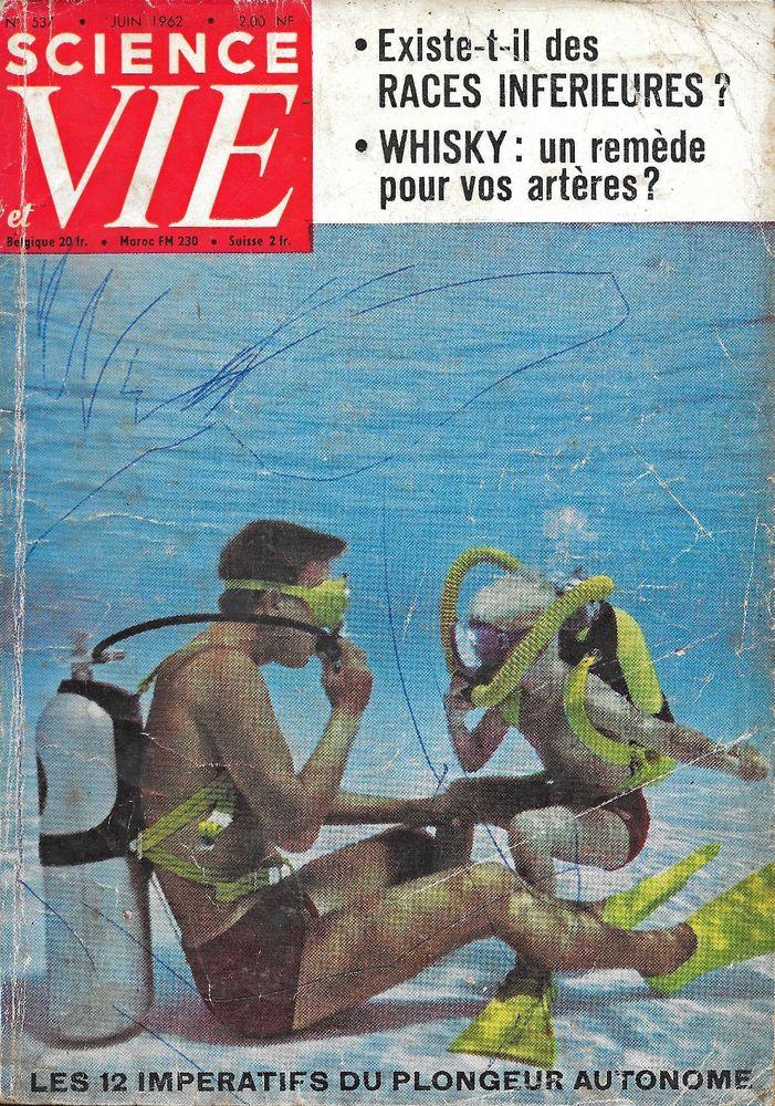 SCIENCE ET VIE n°537 1962 APPAREILS PHOTOS Livres et BD