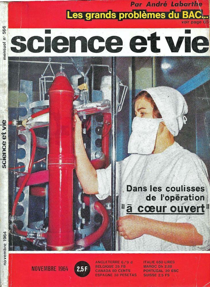 SCIENCE ET VIE n°566 1964  AVION F III  LA LUNE  2 Castelnau-sur-Gupie (47)