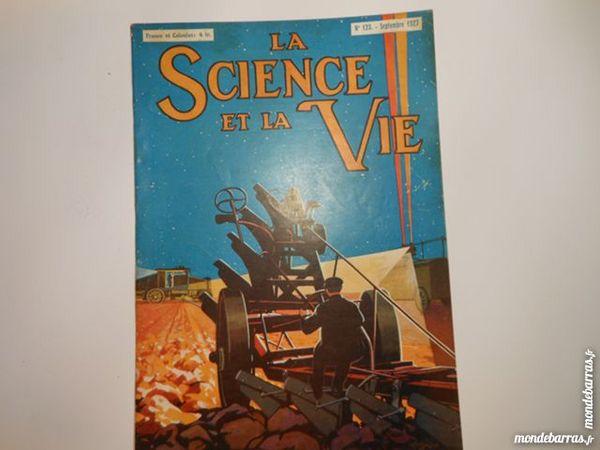 science et vie N°124 d'octobre 1927 Livres et BD
