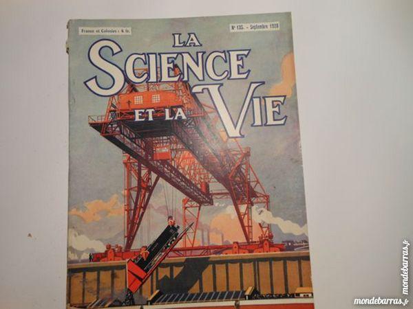 science et vie N°135 de septembre 1928 Livres et BD