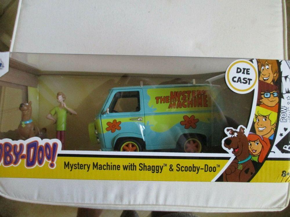 Scooby-Doo Mystery Machine 1:24 Véhicule moulé sous pression 38 Coudekerque-Branche (59)