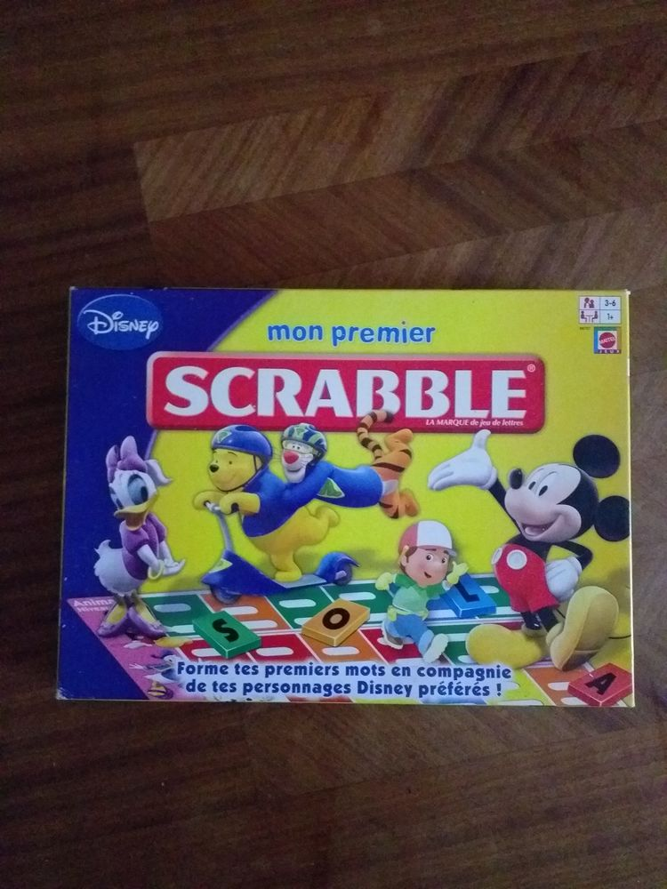 Mon 1er scrabble  13 Gensac (33)