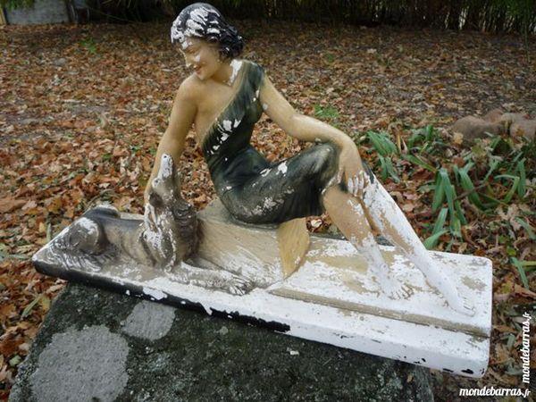 Sculpture art déco/statue,plâtre/terre cuite 35 Castres (81)