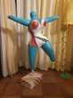 Sculpture façon Niki de Saint Phalle (Grillage + Platre) Décoration