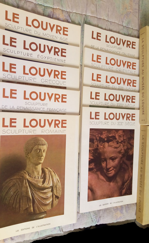 La sculpture au musée du Louvre (2 coffrets - 10 pochettes) 50 Clermont-Ferrand (63)
