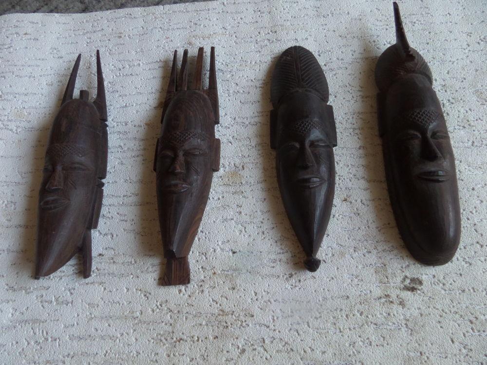 sculptures africaine sur bois du    KENYA 10 Lyon 8 (69)