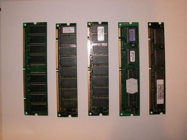 5 x SDRAM 128Mo - PC133 compatible tout ordinateur Matériel informatique
