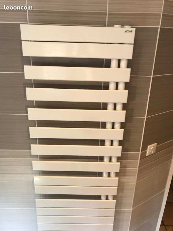 Sèche serviettes mixte blanc marque ACOVA 499 Draguignan (83)