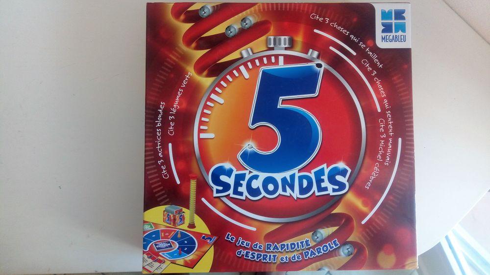 Jeu 5 secondes (à partir de 8 ans) 10 Paris 9 (75)