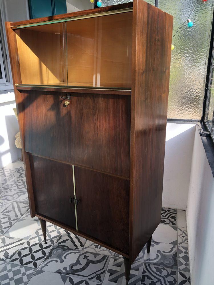 secrétaire bureau vitrine vintage Années 50/60 239 Toulon (83)