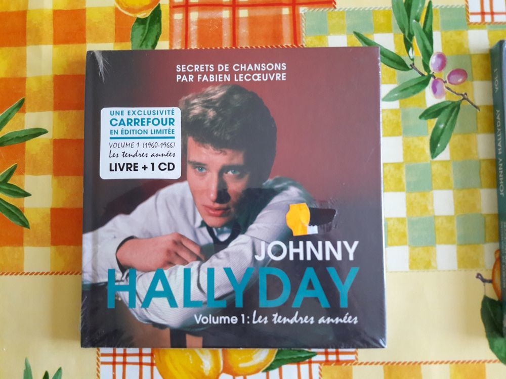 VOL N°1 SECRETS de CHANSON 1960-1966 JOHNNY HALLYDAY 24 Decazeville (12)