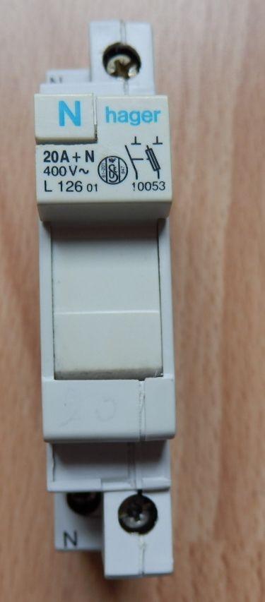 Sectionneur fusible HAGER 20 A : Très bon état 3 Évry (91)