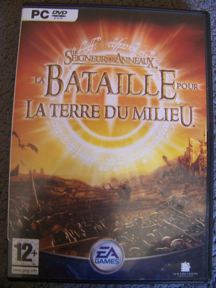 JEU PC DVD ROM LE SEIGNEUR DES ANNEAUX LA TERRE DU MILIEU 20 Damprichard (25)