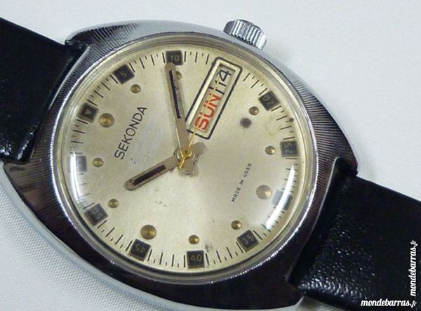 SEKONDA montre mécanique RUSSE 17 rubis SEK0001 105 Metz (57)