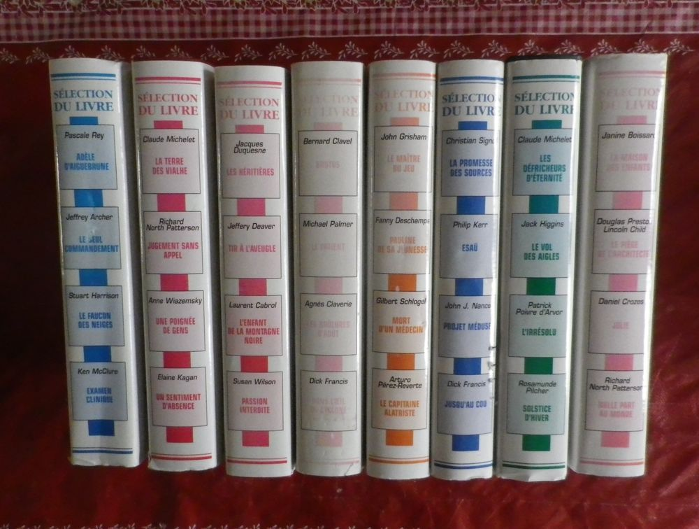 LOT 8 SELECTION DU LIVRE READER'S DIGEST 5 Attainville (95)