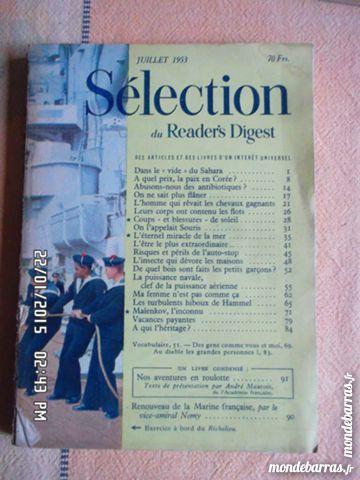 SELECTION DU READER'S DIGEST KIKI60230 5 Chambly (60)