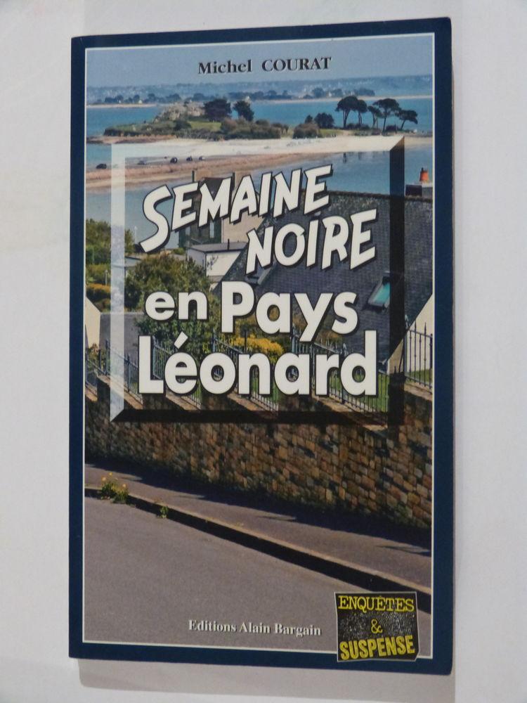 SEMAINE NOIRE EN PAYS LEONARD  policier  BRETON BARGAIN 4 Brest (29)