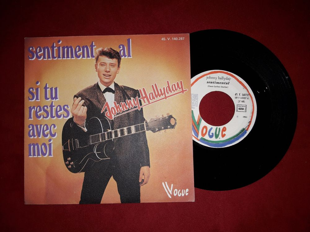 SENTIMENTAL J H Pochette papier Granuleux CD et vinyles