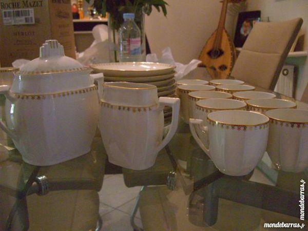 Porcelaine Masse Et Surget  Service A Cafe