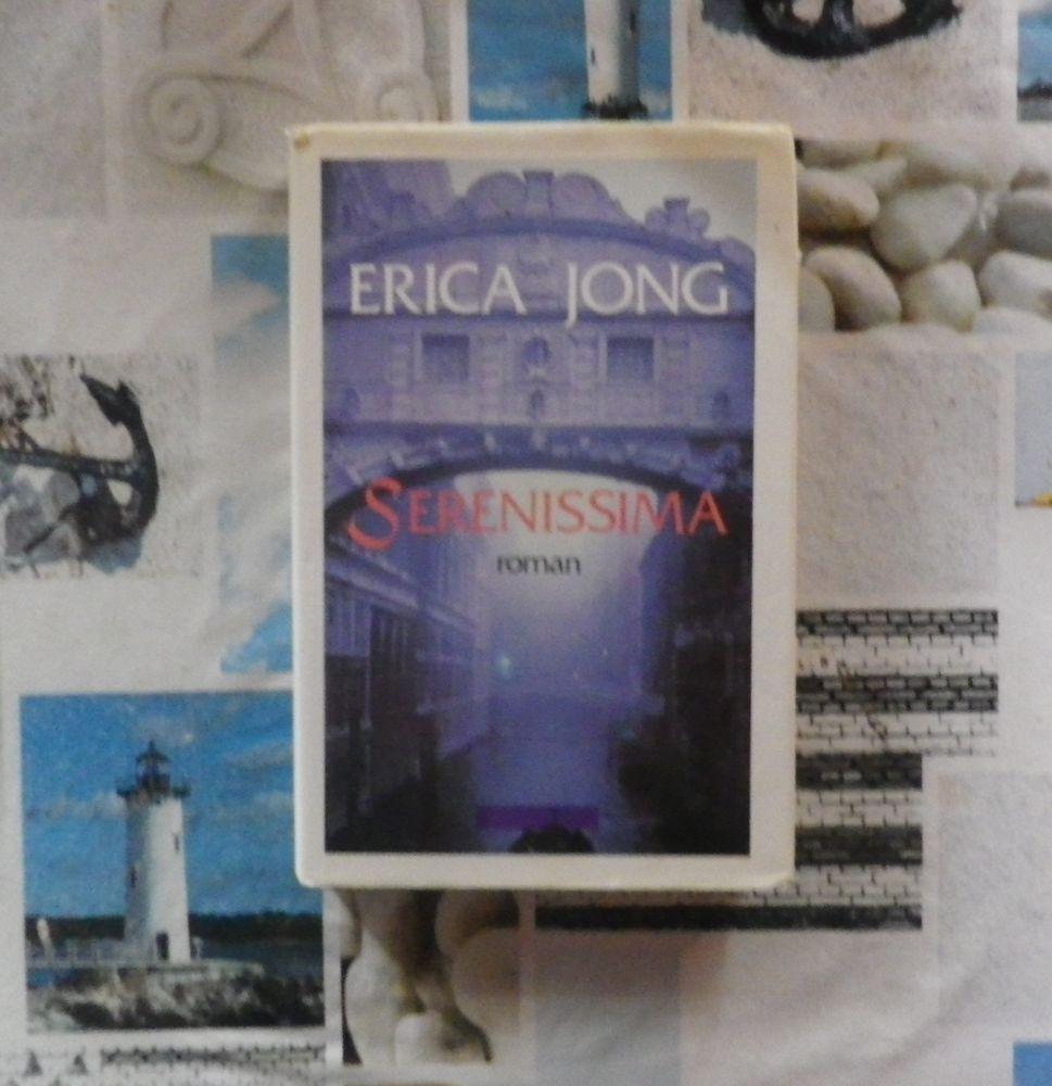 SERENISSIMA de Erica JONG Ed. Acropole 5 Bubry (56)