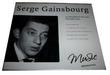 CD Serge Gainsbourg ?? Le Poinçonneur Des Lilas  Mazingarbe (62)