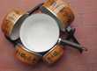 Série 5 casseroles acier émaillé à fond épais