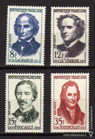 Série Célébrités N° 1146 à 1149 An 1958 2 La Seyne-sur-Mer (83)