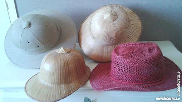 Serie de chapeaux exotiques Bijoux et montres