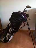 Série de clubs de golf (3 5 6 7 P S et putter) + sac+chariot 150 Parigné-le-Pôlin (72)