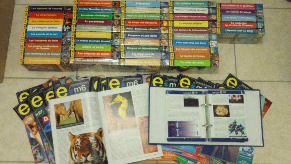 Série complète E=M6 cassettes 40 Rivières (81)