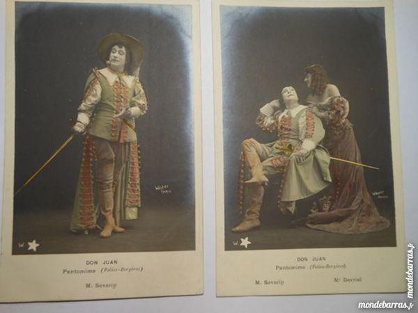 CPA serie de 10 Don juan pantomine   41G3 10 Grézieu-la-Varenne (69)
