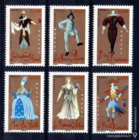Série personnages célèbres N° 3917 à 3922 An 2006 4 La Seyne-sur-Mer (83)