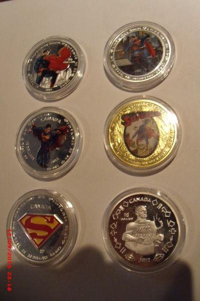 Série de 6 pièces thème super héros- superman 58 Le Luc (83)